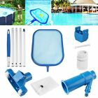 Swimming Pool Cleaning Tool Maintenance Kit Suction Head + Skimmer Net