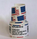 100 PCS Roll Stamp USPS 2018 US Flag Forever Postage Stamps Free & Fast Shipping