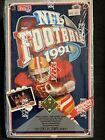 1991 Upper Deck Football Trading Cards 1st Series Factory Sealed Wax Box