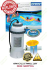Intex 28684 Pool Heater Electric EU plug for Swimming Pool + thermometer 220V