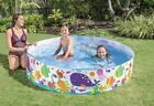 Intex 6ft x 15in Snapset Kids Pool W Sea Creature Decoration Ages 3+ BRAND NEW