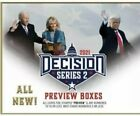 2020 LEAF DECISION Series 2 PREVIEW Cards #10 or less Sealed Hobby Box CLOSEOUT!