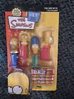 The Simpsons Mini PEZ Candy Dispensers (Holds 5 PEZ) Homer, Bart, Lisa & Marge