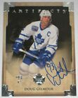 DOUG GILMOUR SIGNED 13-14 UPPER DECK ARTIFACTS MAPLE LEAFS CARD AUTOGRAPH AUTO!!