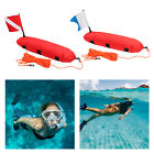 Scuba Diving Inflatable Surface Marker Buoy Float with Dive Flag  25m Rope