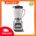 Oster One Touch 6 Cup Blender With Pre Programmed Settings and Glass Blender Jar