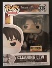 Funko Pop! Animation Cleaning Levi 239 Attack On Titan AOT Hot Topic IN HAND**
