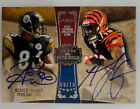 2011 Topps Five Star Hines Ward A.J Green Dual On Card Auto #09 10
