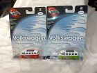 Hot Wheels 100 Volkswagen lot x 2 red and green micro bus 2 4 2002 hw8