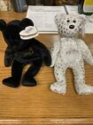 Ty Beanie Baby THE BEGINNING & THE END BEAR 1999 RETIRED VINTAGE rare collectors