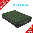 Camping Air Mattress Full Size 14 Antimicrobial Coating In And Out Pump Airbed