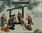 Kirkland Signature 75177 Nativity Set 13 Pieces in BOX Nice Condition NoWoodBase