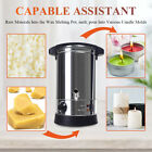 65L Candle Making Large Melting Pot Furnace Electric Soy Wax Melter w Spout