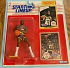 1990 Kenner Starting Lineup JAMES WORTHY Figure w/ Rookie Collector Cards  Sharp