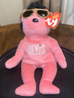 TY Beanie Baby - BEARNING LOVE the Elvis Bear (8.5 inch) *NM TAG*
