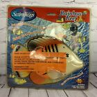 SwimWays Rainbow Reef Fish Pool Toy Clown Fish Realistic Swimming Action NEW