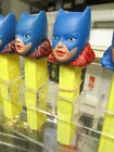 PEZ 1978 BATGIRL Batman comic book factory sample test colorRED HAIR,only 1known