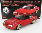 1990 FORD MUSTANG LX STREET FIGHTER RED 118 SCALE MODEL CAR BY GMP 18955