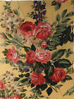 Gorgeous Ralph Lauren Decorator Fabric French Farmhouse 15 Yds NEW Red Floral