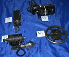 FRANKLIN ROTARY BLACK SEWING MACHINE ORIGINAL PARTS IN GOOD CONDITION