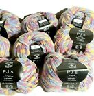 KNIT ONE CROCHET TOO PJs Yarn Bulky Lot of 8 Multicolor Knitting Crafting