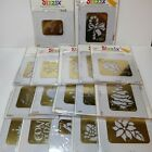 17 Sizzix Embossing Folders Holiday Christmas Butterfly Congrats Bells Tree