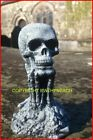 NEW DESIGN RUBBER LATEX MOULD MOULDS MOLD DETAILED SKULL + BONES ORNAMENT SMALL