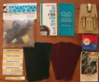 Vintage Reel to Reel Lot Tape Splicer Cutter Microphone Catalogs Binding  More