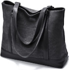 Canvas Laptop Tote Work Bag for Women with 156 Inch Computer Compartment Poc