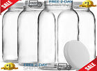 1 Gallon Glass Jar Wide Mouth with Airtight Metal Lid 4 pack