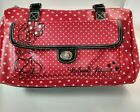 Minnie Mouse Womens Purse Red with White Polka Dots from Disneys Parks