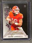 Trevor Lawrence 2021 Wild Card Matte Red Hot Rookie Gold Ink Auto 1 20 RC sb