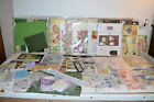 HUGE SCRAPBOOK LOT Paper Stickers cut outs Kits Mixed lot Easter Valentine etc