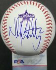 NICK CASTELLANOS Autographed Signed 2021 All Star Game ASG Baseball PSA DNA COA
