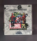 Marvel 75th Anniversary Trading Card Box One (1) Factory Sealed Box