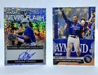 Wander Franco Autograph 2019 Leaf News Flash + 2021 Topps Now Call Up #402