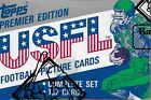 1984 Topps USFL Factory Set, Walker White Young RC, BBCE Authenticated