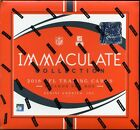 2018 Panini Immaculate Football 1st Off The Line Hobby Box (Brand New 1 Box)