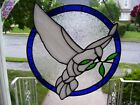 Stained Glass Dove of Peace Sun catcher Real Glass