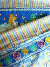 Vintage CARE BEARS QUILT PANEL FABRIC 2004 beautiful