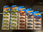 Hot Wheels MAZDA RX 7 95 RX7 Red Kmart Blue Green Lot Of 22