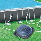 Solar Pool Heater Above Ground Domed Solar Powered Swimming Pool Black US SHIP