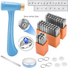68cs 3MM Letter Number Steel Metal Puch Stamping Stamp Tool Kit Jewelry Art DIY