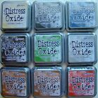 LOT OF 9 Tim Holtz DISTRESS OXIDE Ranger Ink Pads EARTH TONE COLORS Brand NEW