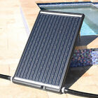 Solar Heater Flat Panel Pool for Above In Ground Swimming Pool w Adjustable Leg