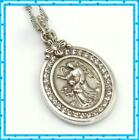 Brighton Guardian Angel Petite Pendant Silver Crystal Necklace NWT 68