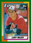 Larry Walker Rookie Cards Checklist and Autographed Memorabilia Guide 26