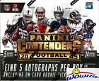 2015 Panini Contenders Football Factory Sealed HOBBY Box-5 AUTOGRAPHS+120 Cards!