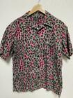 Hysteric Glamour Shirt Open Color Leopard Pattern Value