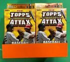 LOT OF 8 2010 TOPPS ATTAX STARTER DECK PACK BASEBALL GAME FACTORY SEALED DISPLAY
